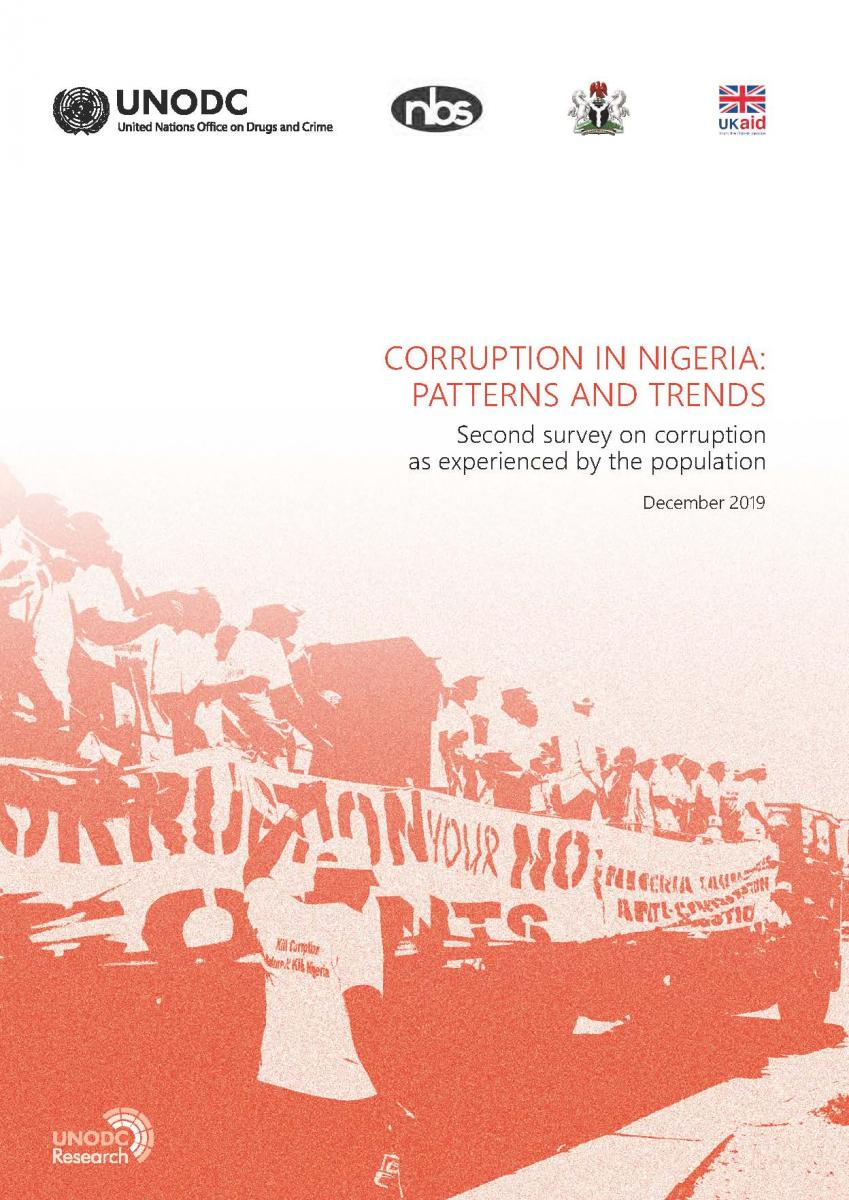 2019 corruption survey nigeria